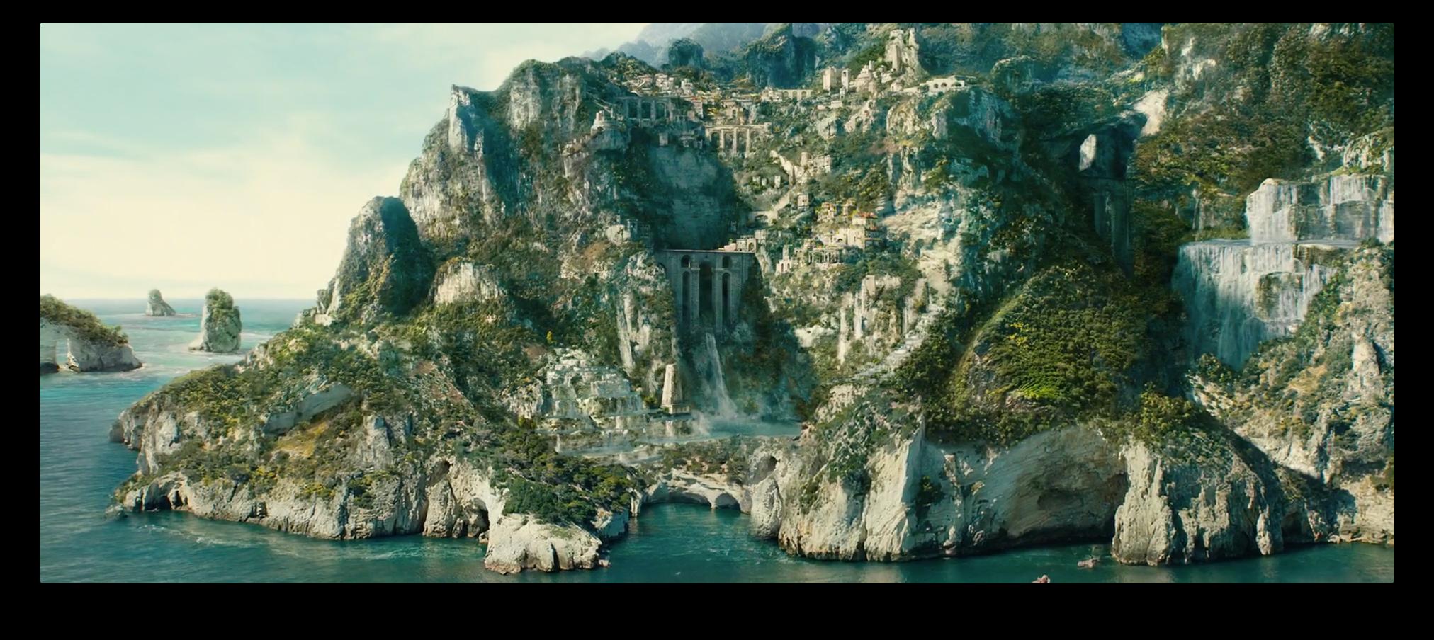 Themyscira - Paradise Island - Wonder Woman
